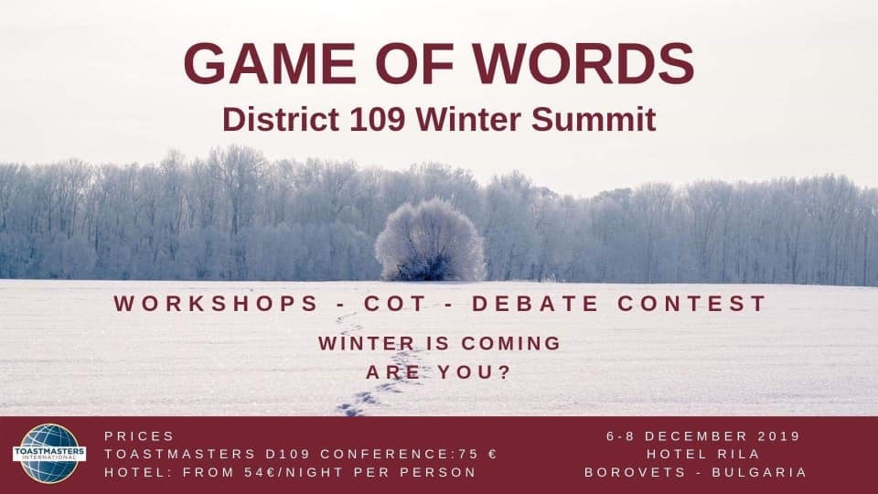 Game Of Words Winter Summit